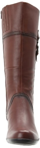 Clarks Women's Ingalls Vicky Boot Brown Leather UYXiOKWjT