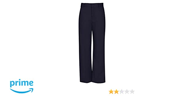 Dark Navy 18.5 51943-DNVY CLASSROOM Big Girls  Plus-Size Flat Front Trouser Pant