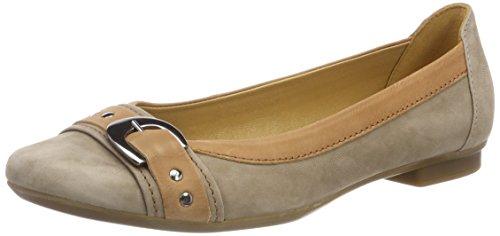 Mujer Bailarinas Beige Casual Shoes Gabor para Gabor Alpaca Cognac qpHwAntXxZ