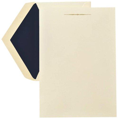 (Crane & Co. Hand Engraved Tailored Ornament Half Sheet (RH1301))