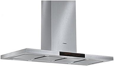 Bosch DIB121K50 - Campana (640 m³/h, 62 dB, De pared, Acero inoxidable, Acero inoxidable, 3 W): Amazon.es: Grandes electrodomésticos