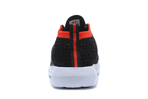 Sintético Zapatillas de Hombre Material negro rojo para Kenswalk de Running RdSfqSxX