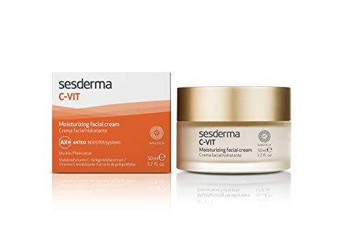 SESDERMA C-VIT- Crema Hidratante Facial, 1.7 Fl Oz (Vitamin Radiance Cream)