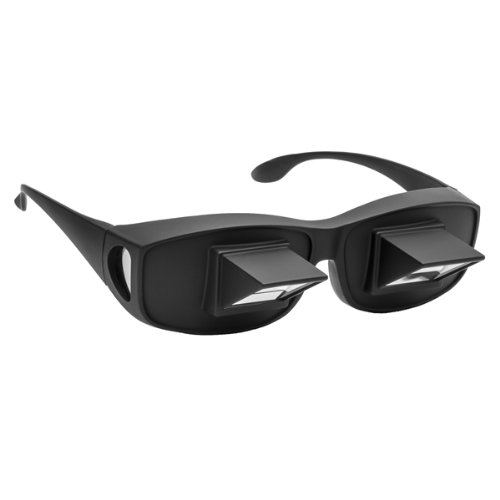 Prism Fit-Over Lazy Glasses Night time Bed Prism Reading Glasses