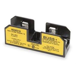 BUSSMANN BG3031S Class G Fuseblock for SC Fuse, Screw with Quick-Connect - 1 item(s) by Bussmann