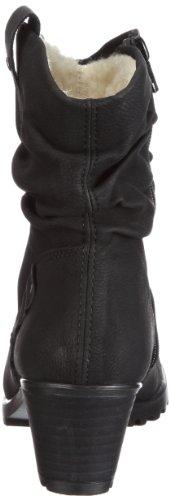 Rieker Y8081-01 Y8081-01 - Botines fashion para mujer Negro
