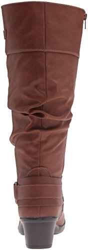 Easy Street Womens Jayda Plus Western Boot Tan