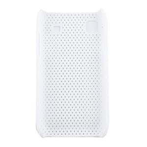 GX Caja de estilo de malla protectora para Samsung i9000 (blanco)
