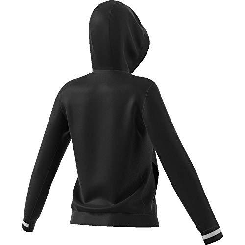 W Black Sweat shirt white Adidas Hoody Femme T19 wEPqxpYOSn