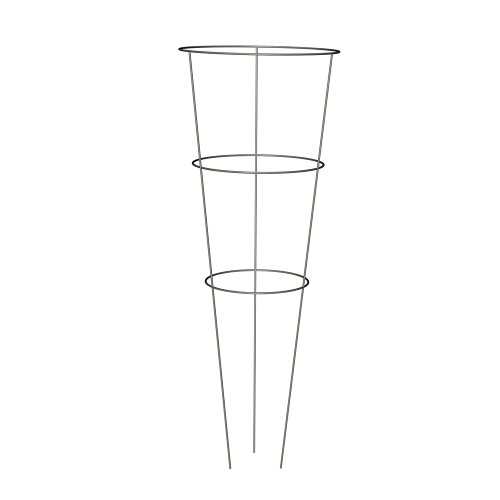 Panacea-89723-Tomato-and-Plant-Support-Cage-Galvanized-Set-of-10