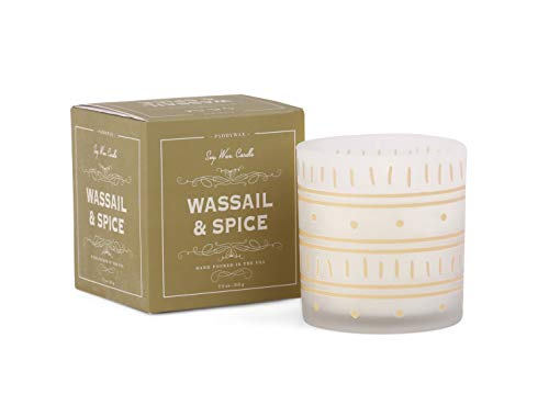 Paddywax Candles Glee Collection Holiday Scented Candle, 8-Ounce, Wassail & - Wassail Collection