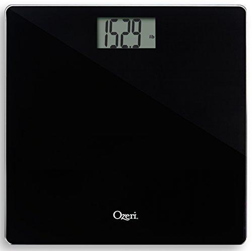 Ozeri Precision Bath Scale  in Tempered Glass, with 50 Gram