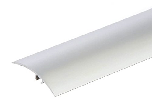 Aluminium Door Floor Bars Threshold Strip Carpet Profile Cover Transition  Trim Laminate Tiles Various Sizes by TMW Profiles (1000x50mm)
