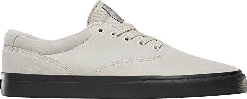 Emerica White Black Vulc Slim Shoe Provost Skate UUP8f
