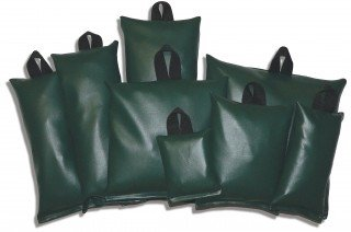 Patient Positioning Sandbags - Set of 8 Sandbags, 1-lb, 3-lb, 5-lb, 7-lb, 10-lb, 15-lb, Available in 6 Colors by Colortrieve (Image #1)