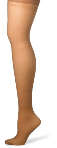 (Hanes Silk Reflections Women's Silky Sheer Hosiery, Barely There, CD (Pack of 3))