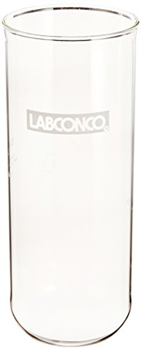 Labconco Flask - Labconco 7543000 Borosilicate Glass Fast-Freeze Flask Bottom, 1200ml Volume