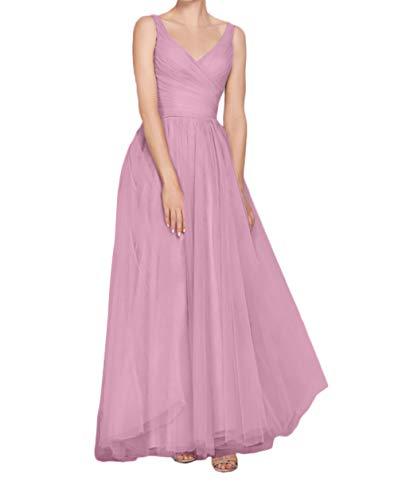 Abendkleider Kleider Brautjungfernkleider Kleider Jugendweihe Marie Braut La Festliche Bodenlang Rosa Rosa Dunkel Xgn1Ugwq8