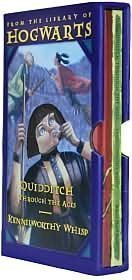 Classic Books from the Library of Hogwarts School of Witchcraft and Wizardry: Quidditch through the Ages and Fantastic Beasts and Where to Find Them by J. K. Rowling, Newt Scamander