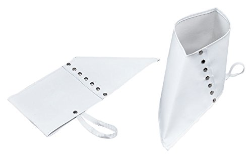 White Adults Spats Shoe Covers (Shoes Spats)