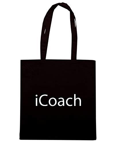 Borsa ICOACH Shirt Shopper OLDENG00533 Speed Nera PYq5waa