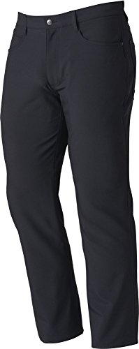 FootJoy Men's Performance Athletic Fit 5 Pocket Golf Pants (Black, 42) (Footjoy Performance Pant)