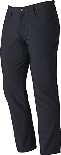 FootJoy Men's Performance Athletic Fit 5 Pocket Golf Pants (Black, 42) (Pant Footjoy Performance)