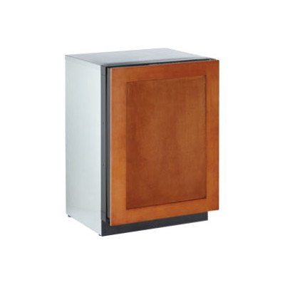 Refrigerator Overlay - 3000 Series 4.8 Cu. Ft. Single Door Refrigerator Hinge: Right, Door Panel: Wood Overlay