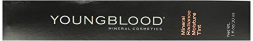 Youngblood Mineral Radiance Moisture, Amber, 1 Ounce