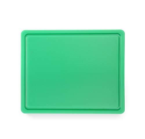 HENDI 826133 Snijplank HACCP Gastronorm 1/2 – Groen – 260x320x(H)12 mm