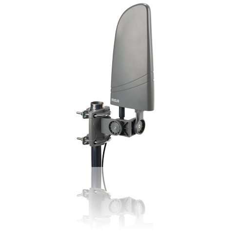RCA Amplified Indoor/Outdoor flat HDTV Antenna (Rca Amplified Hdtv Antenna)