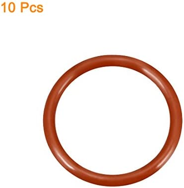2.4mm Width Round Seal Gasket uxcell O-Rings Nitrile Rubber Pack of 50 25.2mm Inner Diameter 30mm OD