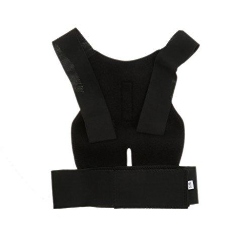 Verstellbar Geradehalter Stabilisator Rückenhaltung Korrekturband Lendenwirbelschulterstütze S