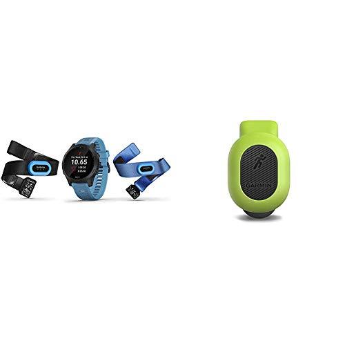 Garmin Forerunner 945 Bundle, Premium GPS Running/Triathlon Smartwatch with Music, Blue & 010-12520-00 Running Dynamics Pod