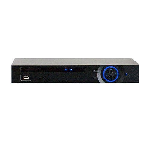 GW Security Inc GW5204CVI Professional 4 Channel HD-CVI DVR 1080p Real-Time Preview, 720P Realtime Recording iPhone and Android