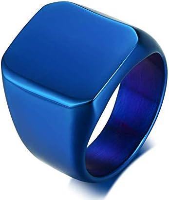 Anillo Roca IXCRA Negro Plateado Dorado Azul Para Hombre de Titanio Autentico Acero Inoxidable Regalo Único y Especial para Hombre Pulido Fuerte Resistente Bello y Cómodo Calidad Superior Durabilidad Regalo de Aniversario Regalo de Cumpleaños Regalo de Graduación