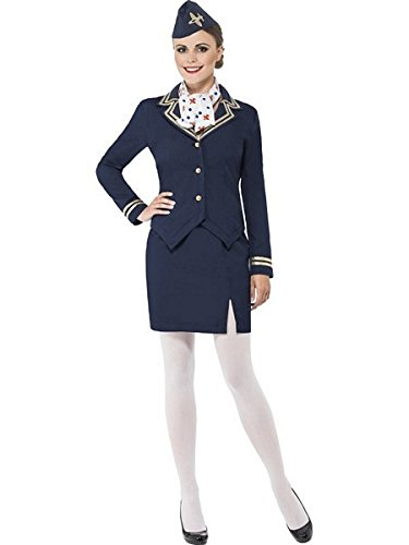 Smiffys Airways Attendant Costume]()