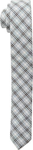 Appaman Kids Boy's Tie (Little Kids/Big Kids) Slate Blue Plaid LG/XL by Appaman Kids (Image #1)