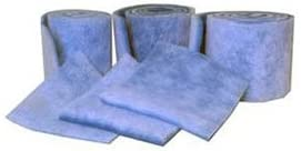 Blue//White Merv 6 Filtration Manufacturing 1110-16901 Polyester Media Roll 1080 L x 16 H x 1 D Lot of 2