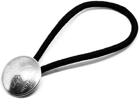 ロシア 1ルーブル イーグル 双頭鷲(燻し無し)直径20mm コンチョ ヘアゴム ブレスレット ビンテージ 外貨 アンクレット メンズ レディース