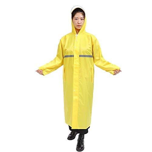 Colori Singolo Bolawoo Elettrico Impermeabile Lungo Di Strato Marca Guida Veicolo Trench Mode single 1 9 Un Doppio 4 Pengfei Rainwear Femminile Cappotto Raincoat 7Zn7HfS