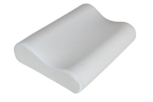 Signature Sleep Contour Memory Foam Pillow with CertiPUR-US