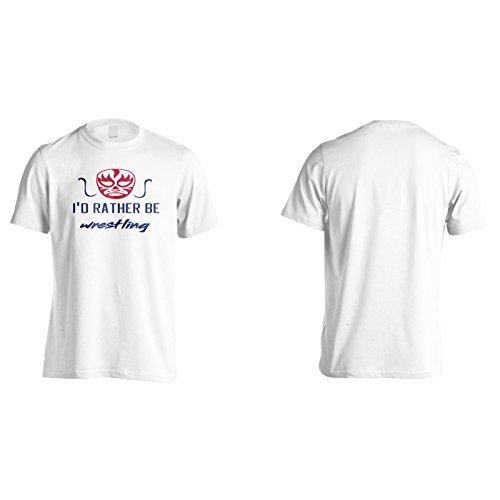 Ich Würde Lieber Ringen Herren T-Shirt k677m