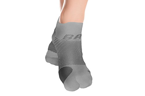 OrthoSleeve Bunion Relief Socks (One Pair) with split-toe design and bunion pad to relieve toe friction and bunion/Hallux Valgus pain by OrthoSleeve