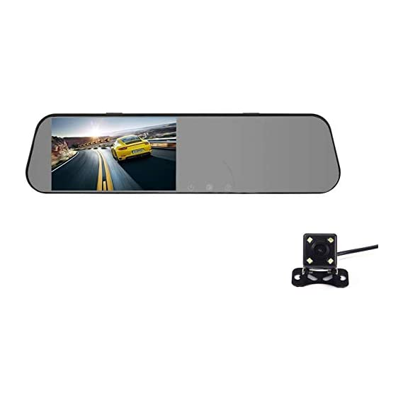 Smart Road Witness WV01RCA08392 Dash Cam for Cars, Full HD 1080P 4.0 inch Ips Display, Wide Angle Lens, Parking