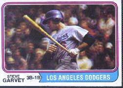 1974 Topps Baseball Card #575 Steve Garvey ()