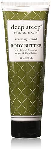 (Deep Steep Rosemary Mint Body Butter Body Butter Cream 6 oz)