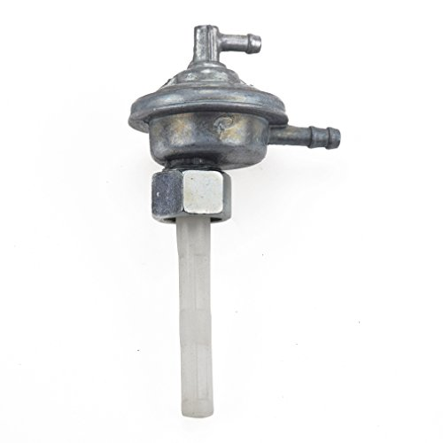 Gas Fuel Switch Pump Valve Petcock for GY6 50cc 139QMB Hammerhead Twister 150cc 157QMJ Trailmaster Manco Tomberlin Go Kart ATV Moped Honda Elite 80 CH80 Scooter Carter Talon 150cc Go Kart