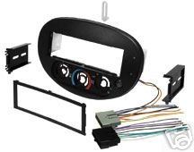 Stereo Install Dash Kit Ford Escort 1997 1998 1999 2000 2001 2002 2003 00 01 02 03 includes wire harness