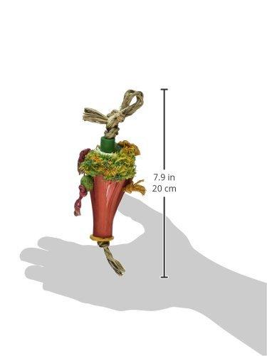 Planet Pleasures Snow Cone Bird Toy, Small